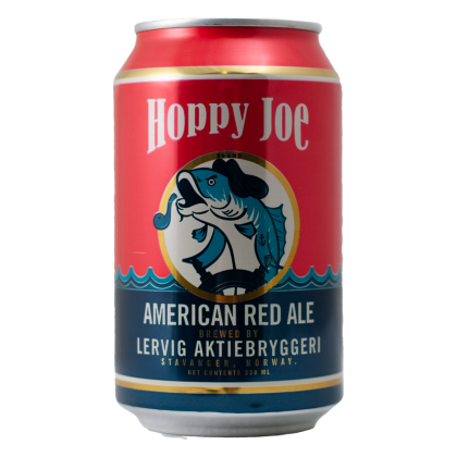 Hoppy Joe - Lervig - Lattina da 33 l