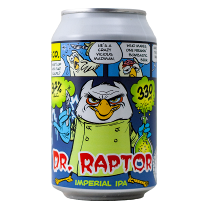 Dr.Raptor - Uiltje - Lattina da 33 cl