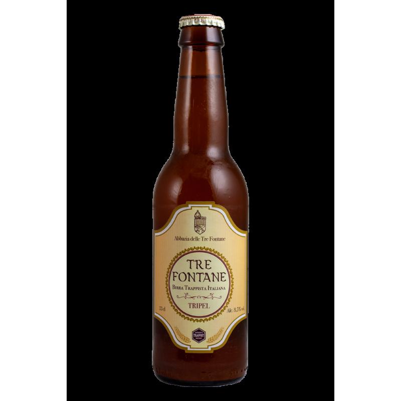 Tripel - Abbazia tre Fontane- Bottiglia da 33 cl