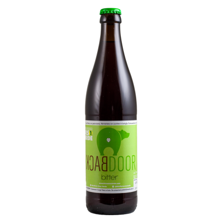 Back Door Bitter - Orso Verde - Bottiglia da 50 cl