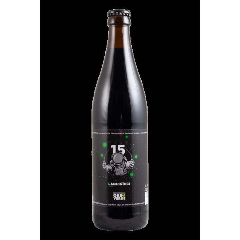 La15 - Orso Verde - Bottiglia da 50 cl