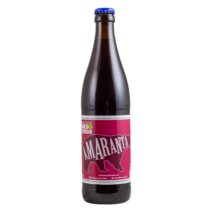 Amaranta - Orso Verde - Bottiglia da 50 cl