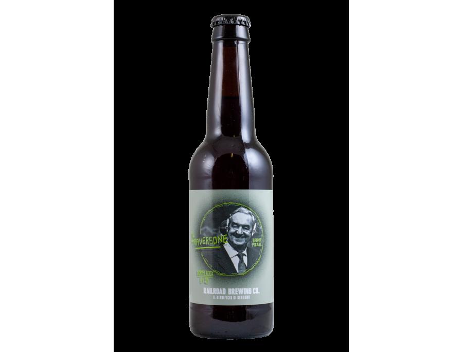 Il Traversone - Railroad Brewing - Bottiglia da 33 cl
