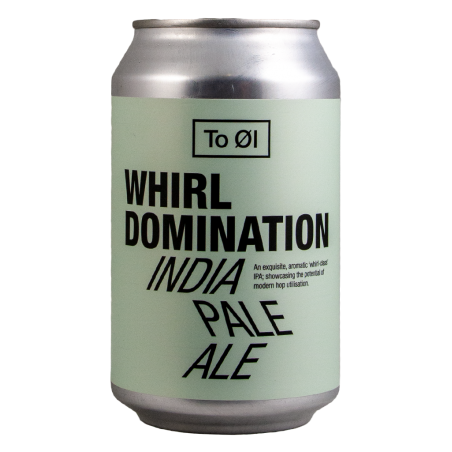 Whirl Domination - To Øl - Lattina da 33 cl