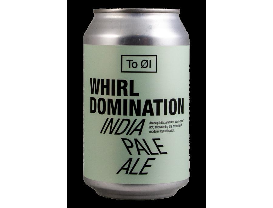 Whirl Domination - To Øl - Lattina da 33 cl