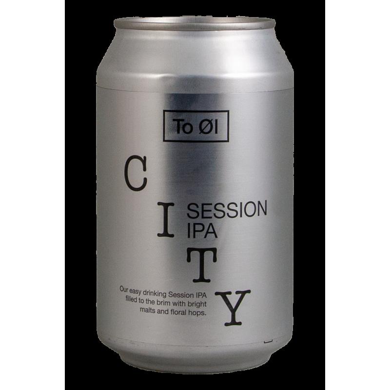 City Session IPA - to Øl - Lattina da 33 cl