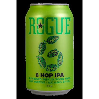 6 Hop - Rogue Ales - Lattina da 35,5 cl