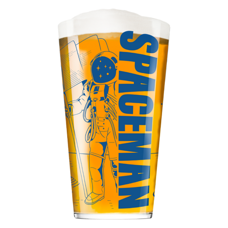 Bicchiere Spaceman - Brewfist - 40 cl