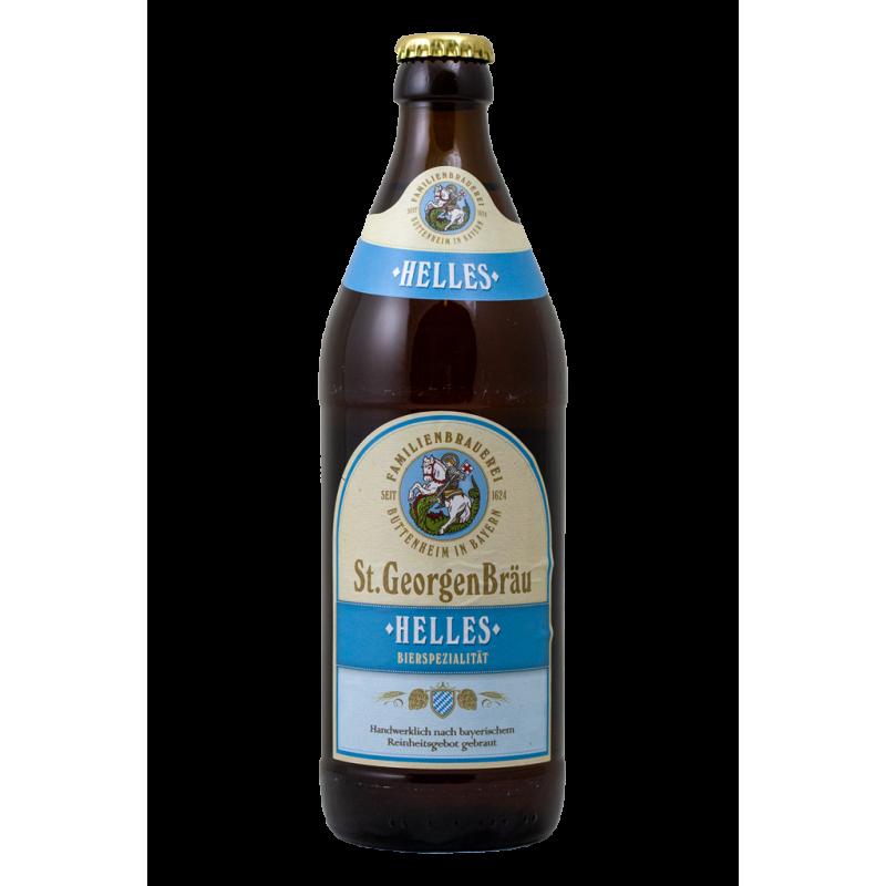Helles - St.Georgen Brau - Bottiglia da 50 cl