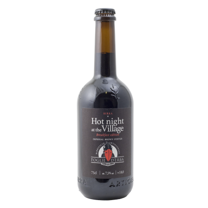 Birrificio Foglie d'Erba - Hot night at the village Breakfast edition - Bottiglia da 75 cl