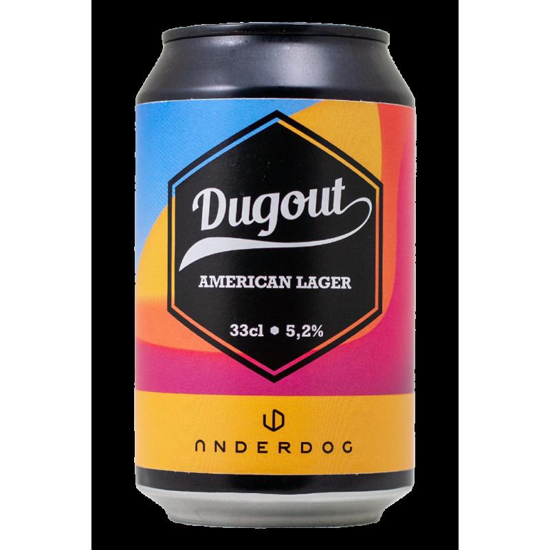 Dugout - Underdog Brewery - Lattina da 33 cl
