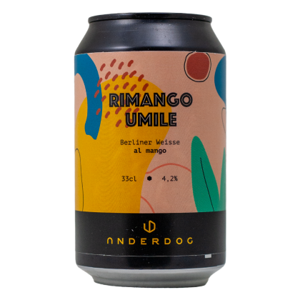 Rimango Umile - Underdog Brewery - Lattina da 33 cl