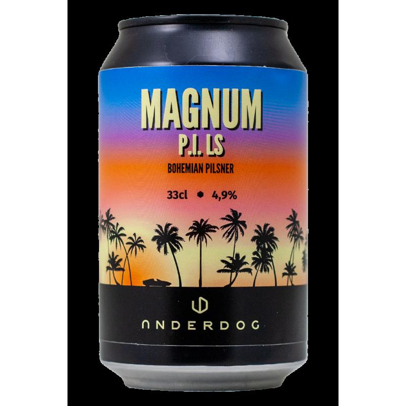 Magnum P.I.LS - Underdog Brewery - Lattina da 33 cl