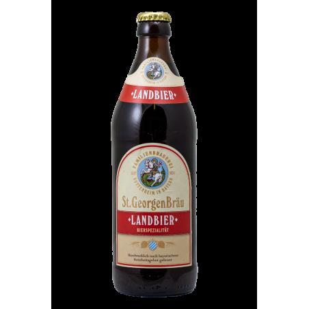 Landbier Dunkel - StGeorgen Brau - Bottiglia da 50 cl