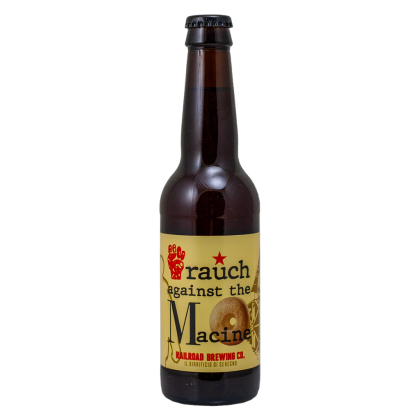 Rauch Against the Macine - Railroad Brewing - Bottiglia da 33 cl