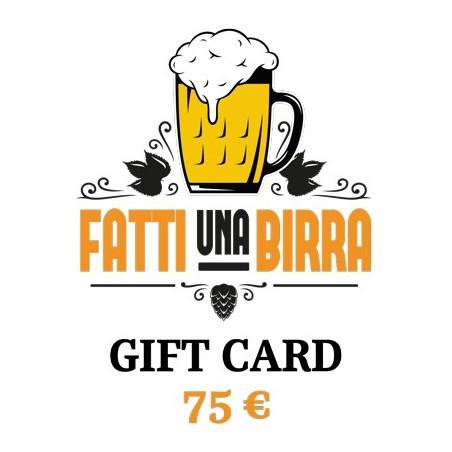 GIFT CARD da 75 €