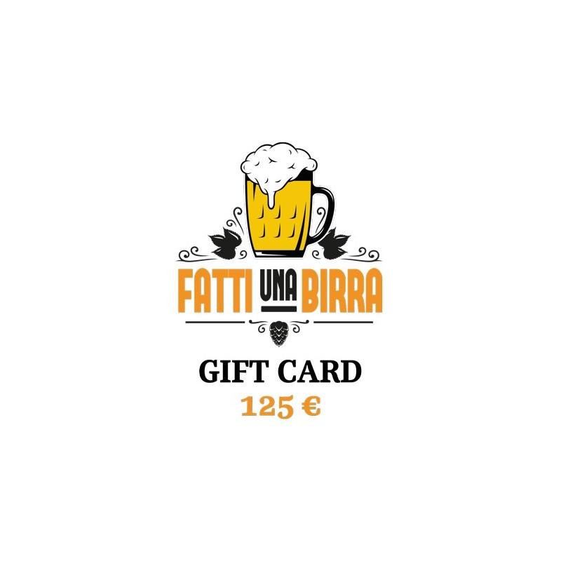 GIFT CARD da 125 €
