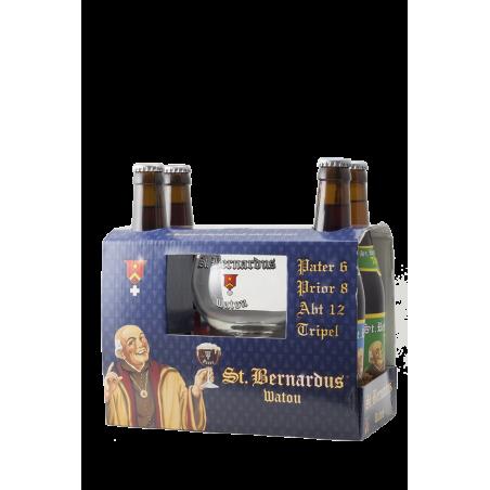 St.Bernardus - Confezione 4x33 con bicchiere