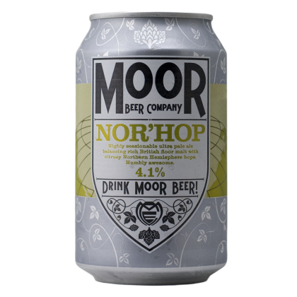Moor - Nor'Hop - Lattina da 33 cl