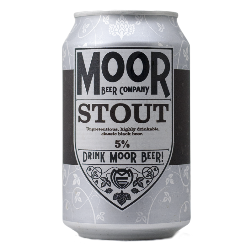 Moor Beer - Stout - Lattina da 33 cl