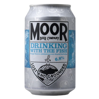 Moor Beer - Drinking with the fish - Lattina da 33 cl