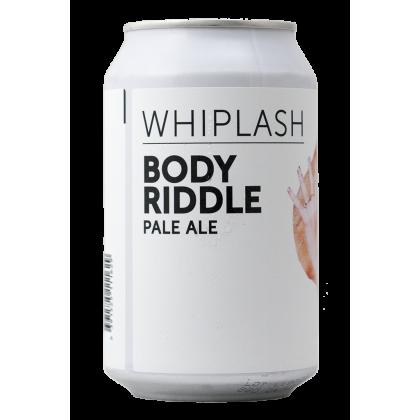 Whiplash - Body Riddle - Lattina da 33 cl