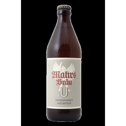 Mahr's Bräu - aU Ungespundet Naturtrüb - Bottiglia da 50 cl