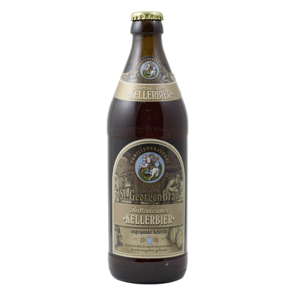 St.Georgen Brau - Kellerbier - Bottiglia da 50 cl
