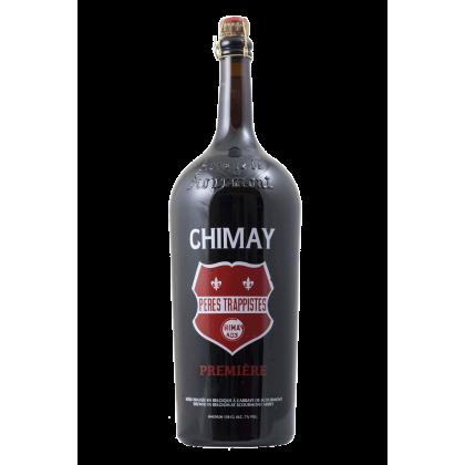 Birra Chimay Première (Tappo Rosso) - Bottiglia magnum da 150 cl