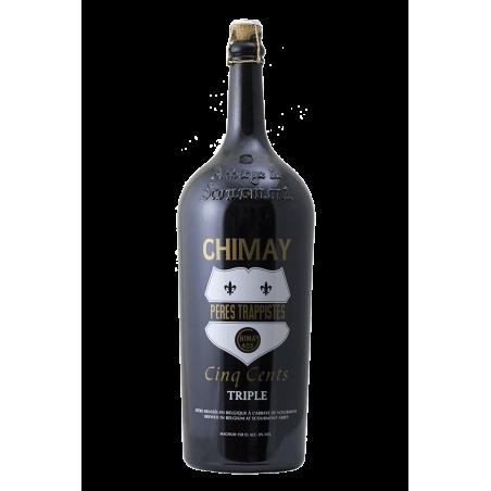 Chimay - Cinq Cents (tappo bianco) - Bottiglia magnum da 150 cl
