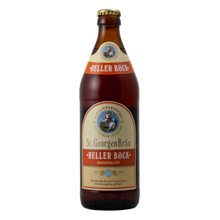 Heller Bock - St.Georgen Brau - Bottiglia da 50 cl